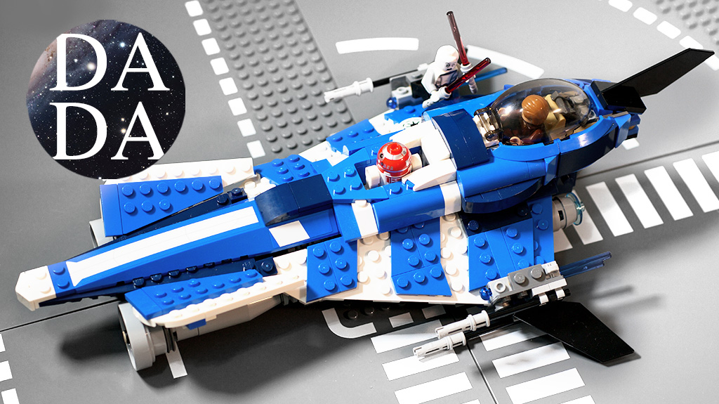 75087 Anakin's Custom Jedi Starfighter (Unboxing & Building)