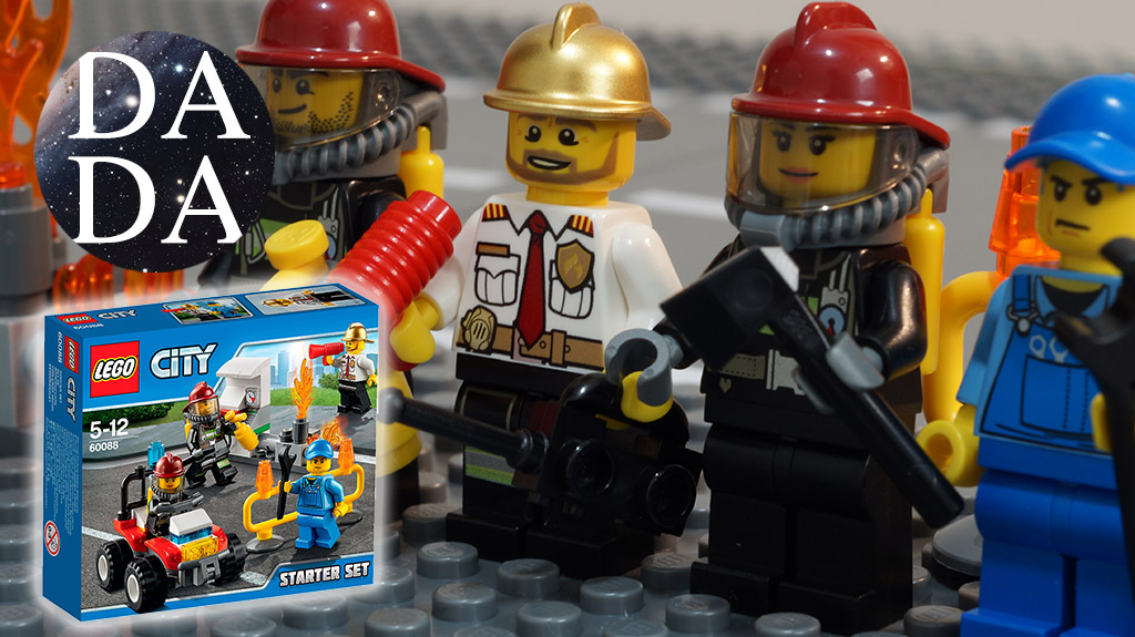 60088 Fire Starter Set (Unboxing & Building)
