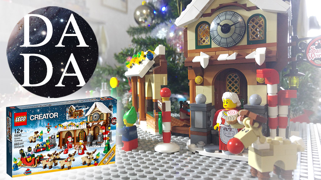 10245 Santa's Workshop (Unboxing & Building)