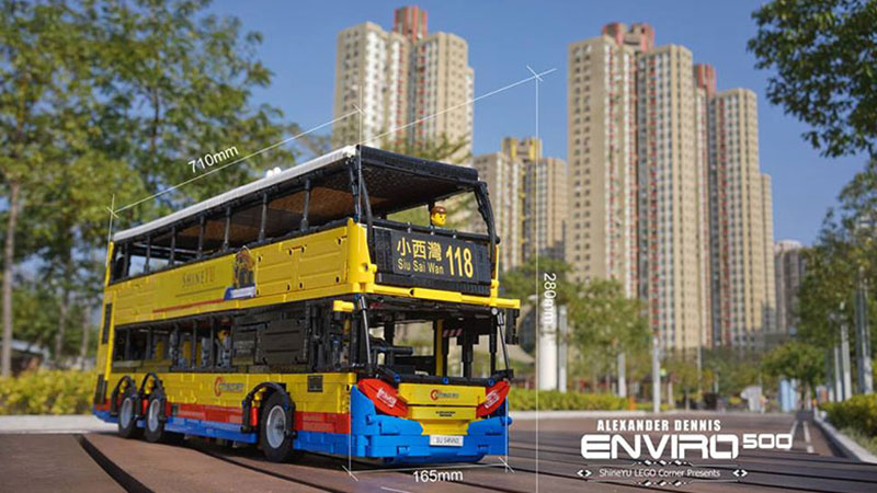MOC – RC Motorized City Bus Alexander Dennis Enviro 500