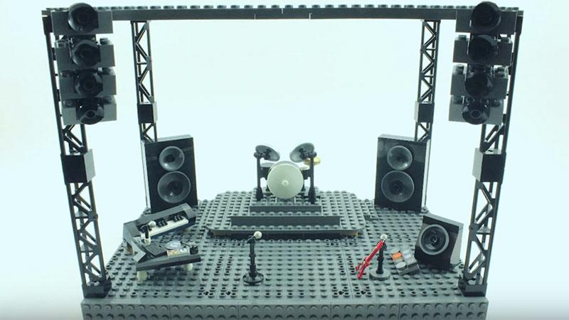MOC – drumset