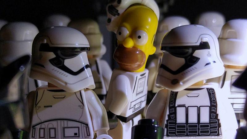 Homer Simpson – Minifigures