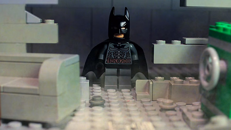 Lego Batman Arkham Fan Film – Stop Motion