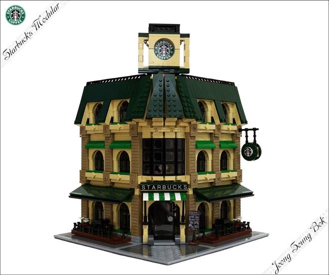 LEGO MOC Minimal Modular Buildings MiniPlayHouse.com