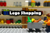 LEGO Shopping – Stop Motion Film