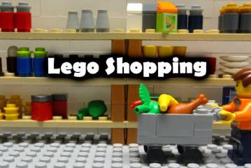 LEGO Shopping – Stop Motion Film
