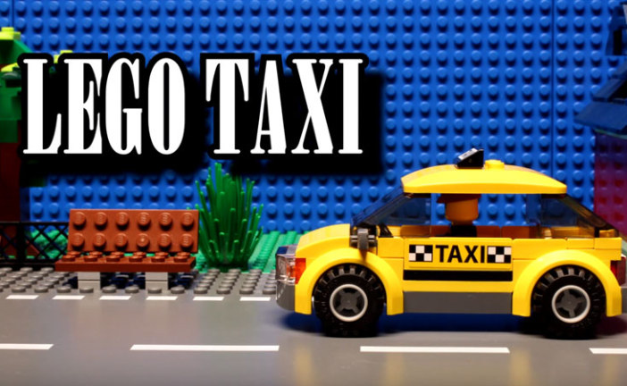 LEGO Taxi – Stop Motion Film