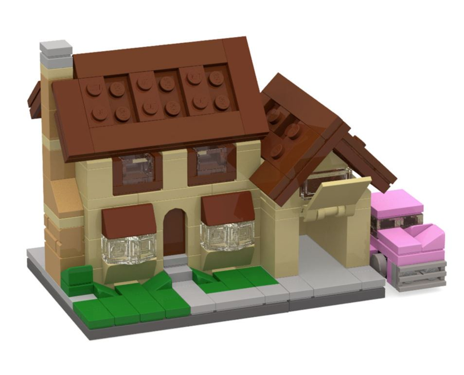 LEGO MOC – Minimal Modular Buildings – MiniPlayHouse.com