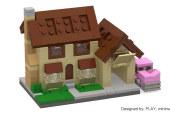 LEGO MOC – Minimal Modular Buildings