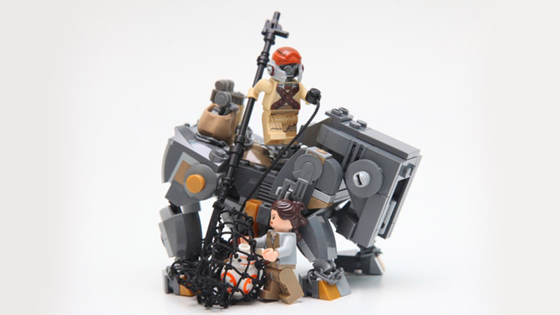 LEGO MOC – Teedo and Luggabeast