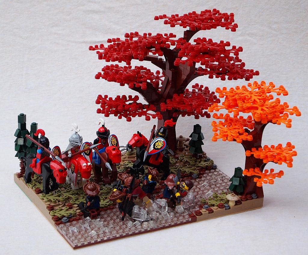 Lord Rings Tree