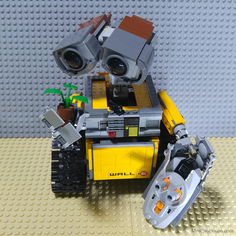 moc lego wall e rc motorized instruction. Black Bedroom Furniture Sets. Home Design Ideas