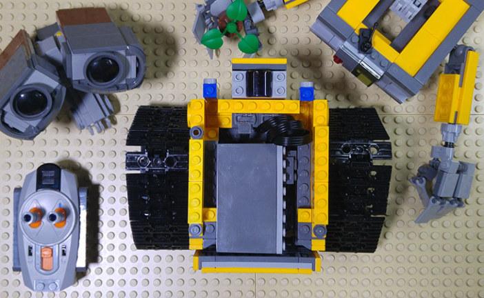 MOC – LEGO Wall-E RC Motorized (instruction)