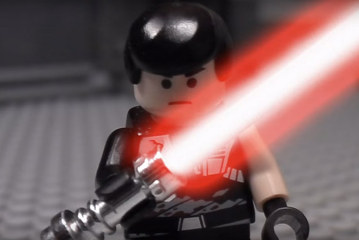 Lego – The Force Unleashed – Stop Motion