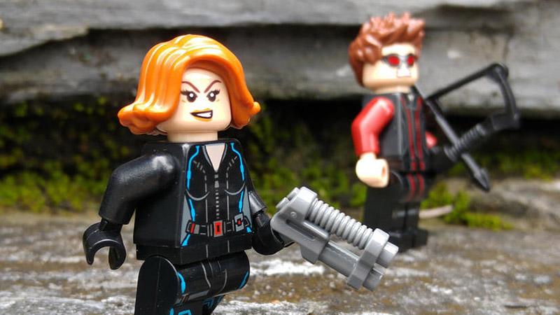 Black Widow – Minifigures