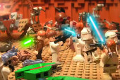 The Fastest and Funniest LEGO Star Wars story – LEGO Stop Motion
