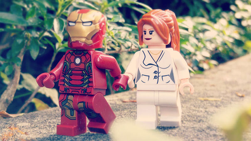 Pepper Potts – Minifigures