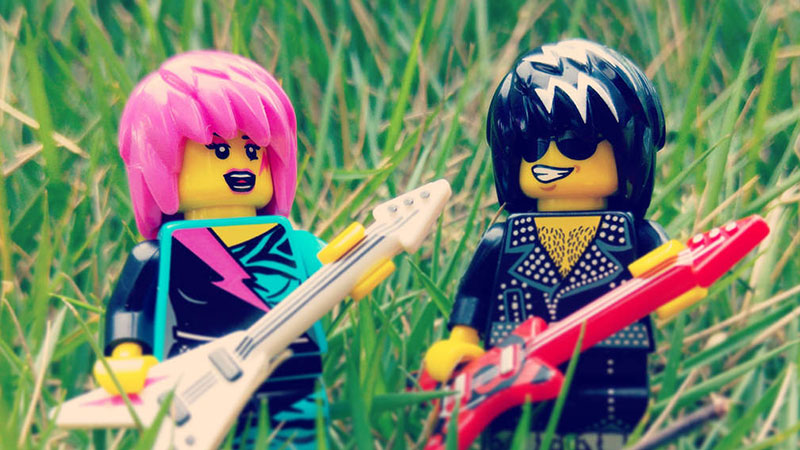 Rock Star – LEGO Minifigures