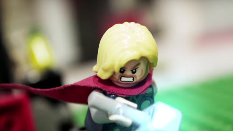 LEGO Thor – Stop Motion: Brother's fight