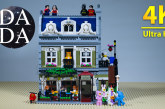 Lego 10243 – Parisian Restaurant (4K UHD) Speed Build & Stop Motion
