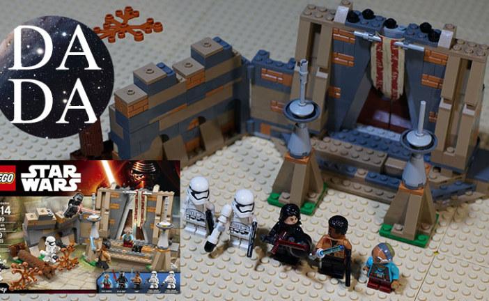 Lego 75139 Battle on Takodana (Speed Build & Stop Motion)