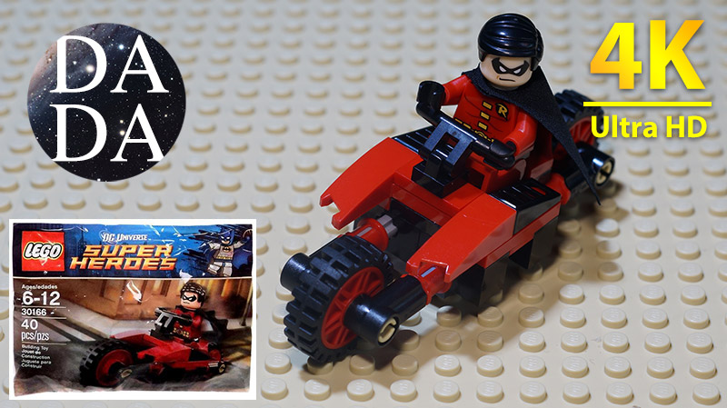 LEGO 30166 Super Heroes Robin and Redbird Cycle (Speed Build & Stop Motion)