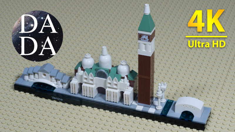 LEGO 20216 – Venice | Architecture – Speed Build (4K UHD)