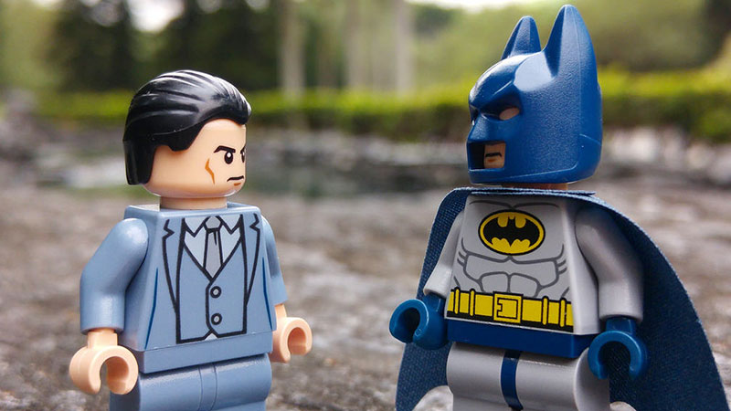 Bruce Wayne – LEGO minifigures