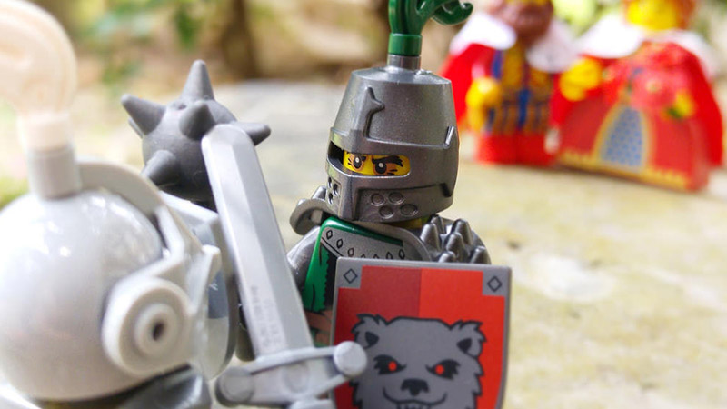 Frightening Knight – LEGO Minifigures