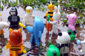Gorilla Suit Guy – LEGO Minifigures