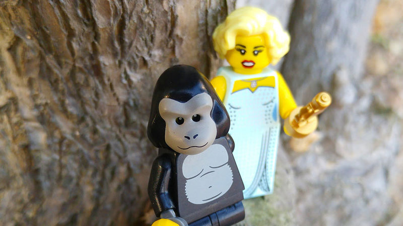 Hollywood Starlet – LEGO Minifigures