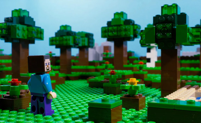 Lego Minecraft Movie – Stop Motion