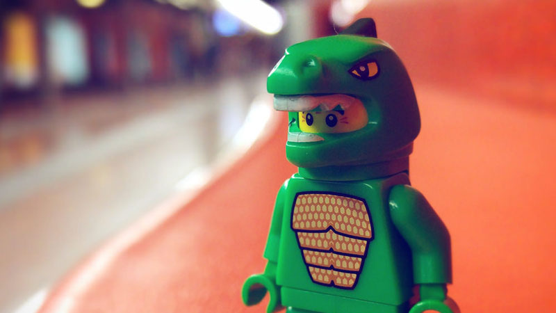 Lizard Man – LEGO Minifigures
