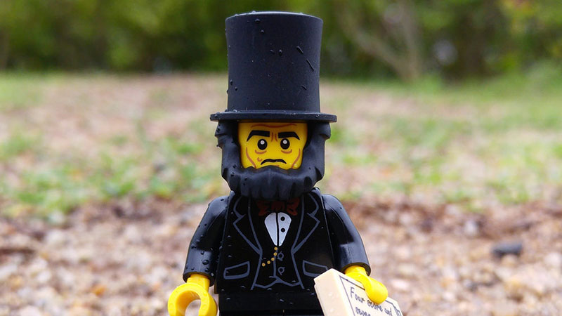 Abraham Lincoln | LEGO Minifigures