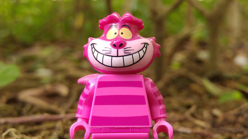 Cheshirecat | LEGO Disney Minifigures