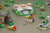 MOC – LEGO Jurassic Park Micro Scale