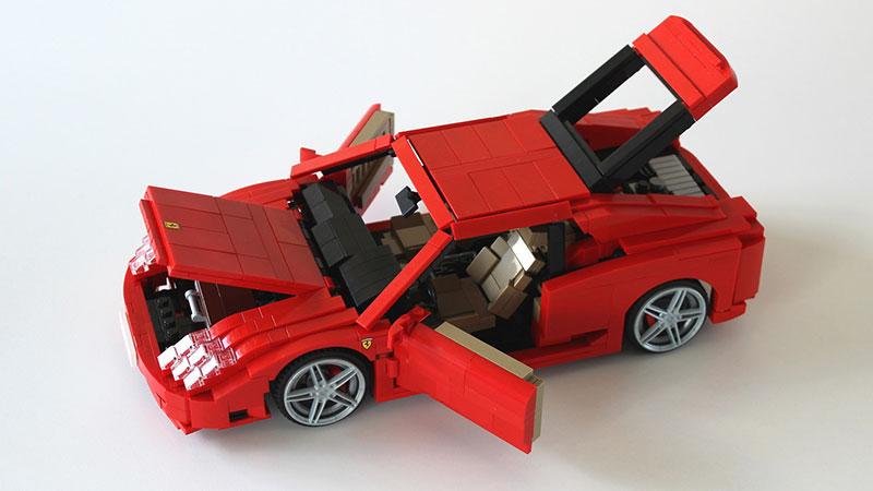 MOC – LEGO Ferrari 360 Modena