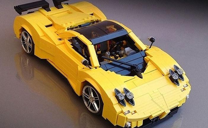 MOC – LEGO Pagani Zonda