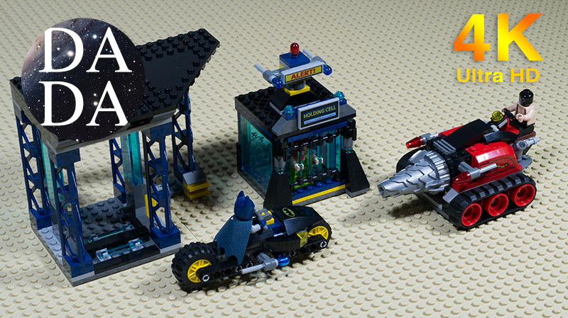 LEGO 6860 – The Batcave – Speed Build & Stop Motion