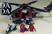 LEGO 6866 Wolverine's Chopper Showdown (Speed Build + Stopmotion)