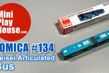 Tomica No.134 Mercedes-Benz Citaro Keisei Articulated Bus – unboxing (4k UHD)