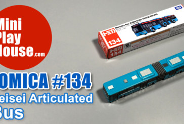 Tomica No.134 Mercedes-Benz Citaro Keisei Articulated Bus – unboxing (4k UHD)