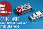 Tomica No.18 Nissan NV350 Caravan Ambulance – unboxing (4k UHD)