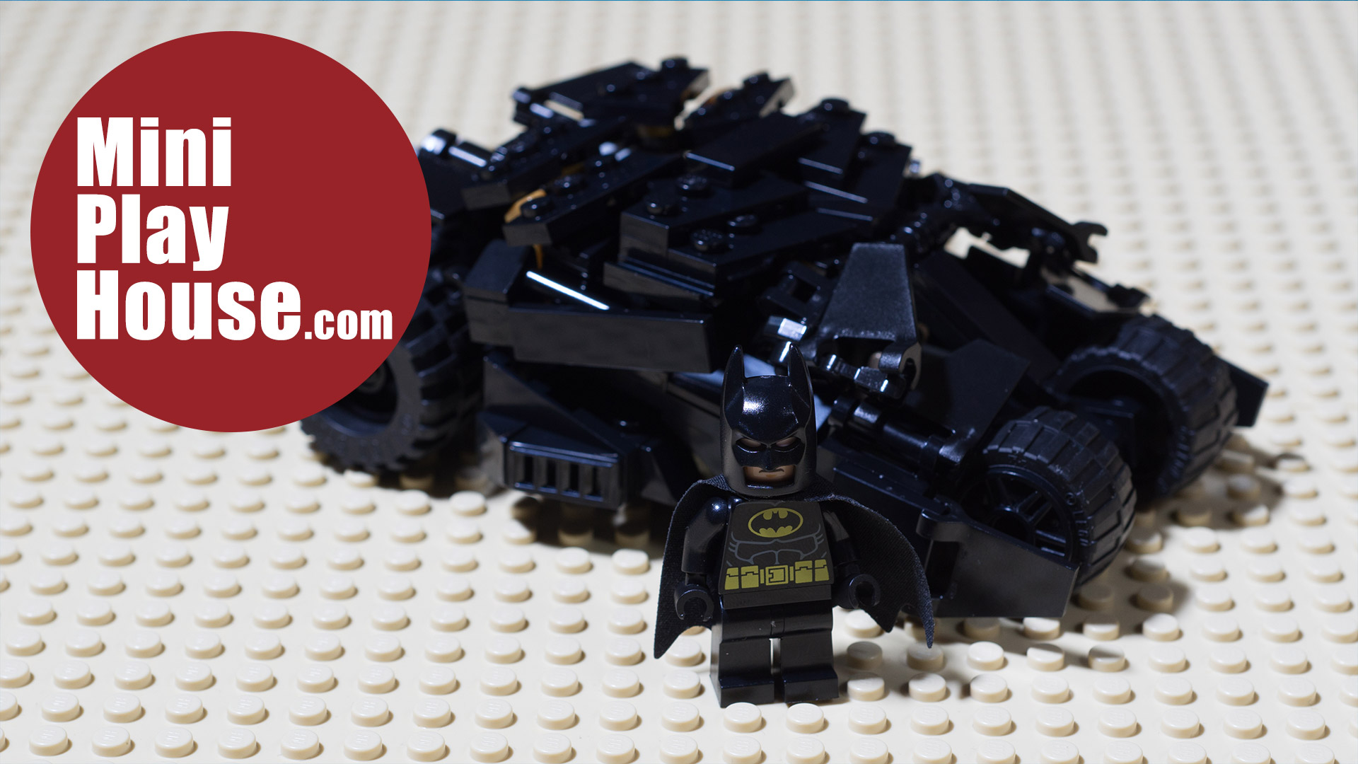 MOC LEGO Batman Tumbler (Unbox & Speedbuild)