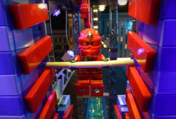 LEGO® NINJAGO – Ninjas take on the American Ninja Warrior Obstacle Course!