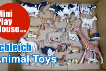 Unbox Schleich 18 Animal Toys