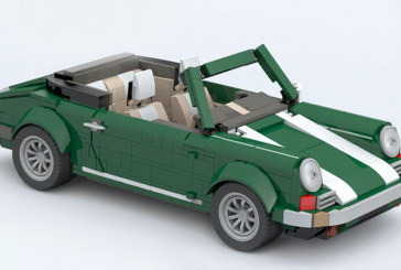 MOC Porsche for LEGO Creator 10242 Set