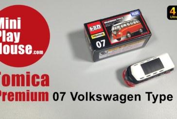 Tomica Premium – 07 Volkswagen Type 2 – unboxing (4K UHD)