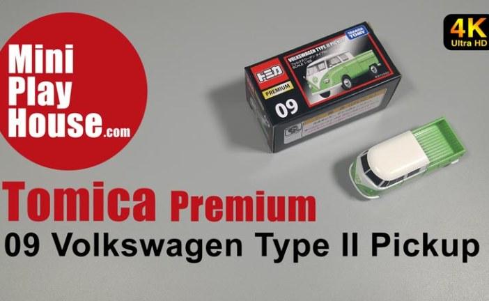 Tomica Premium – 09 Volkswagen Type 2 Pickup – unboxing (4K UHD)