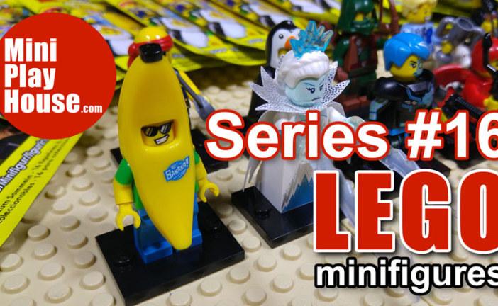 Unboxing – Lego Minifigures Series 16 Fullset